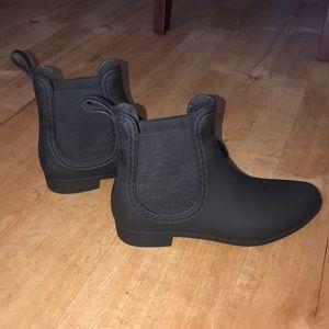 Jeffrey Campbell Havana Black Matte Boots